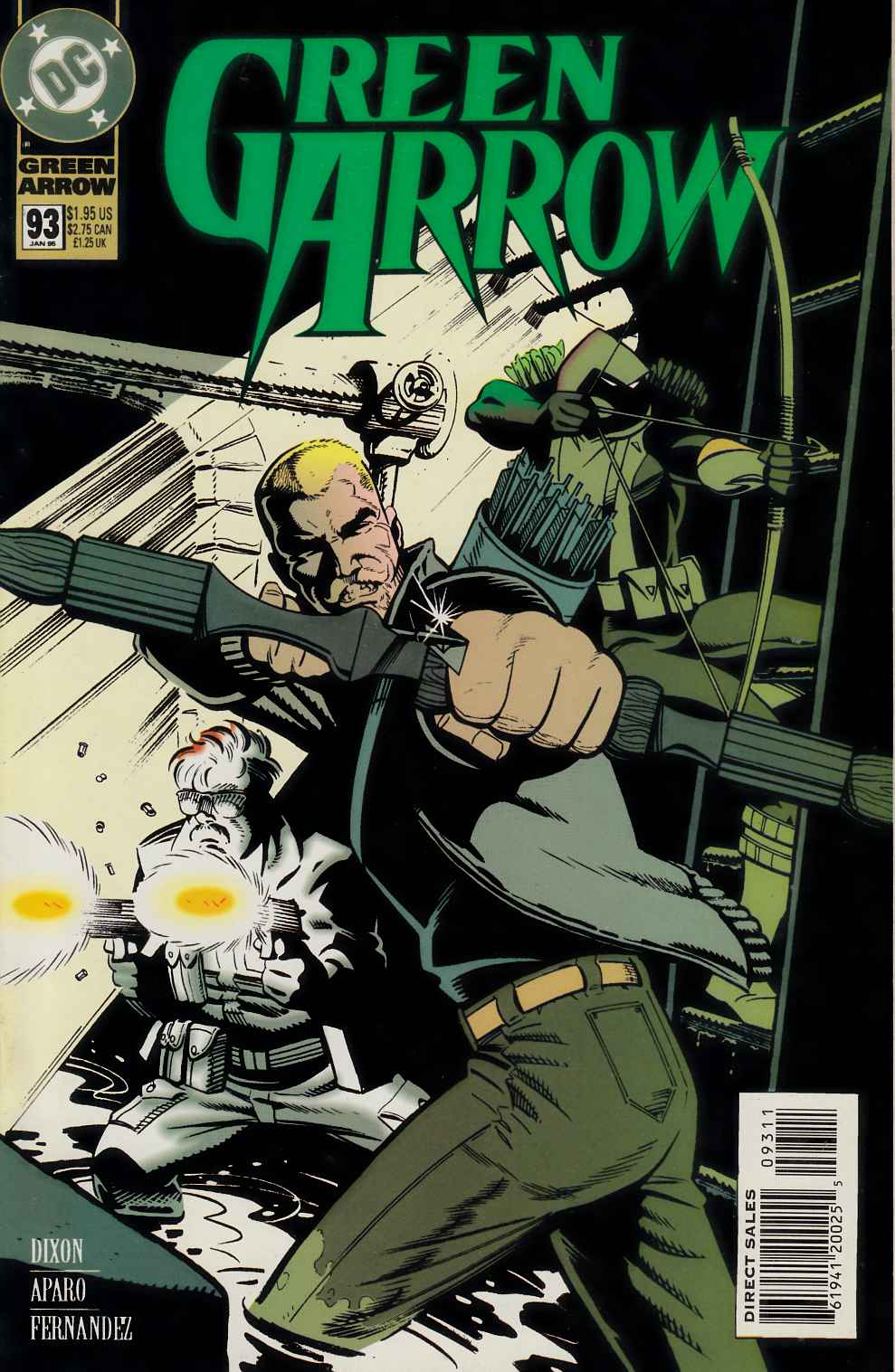 Green Arrow #93 Fine (6.0) [DC Comic] LARGE
