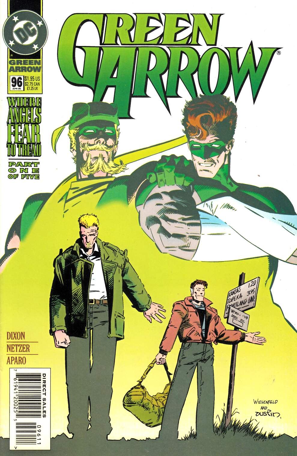 Green Arrow #96 Fine (6.0) [DC Comic] LARGE