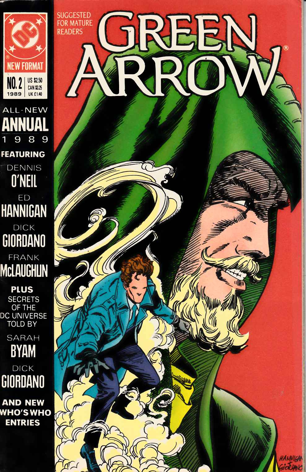 Green Arrow Annual #2 Fine (6.0) [DC Comic] LARGE