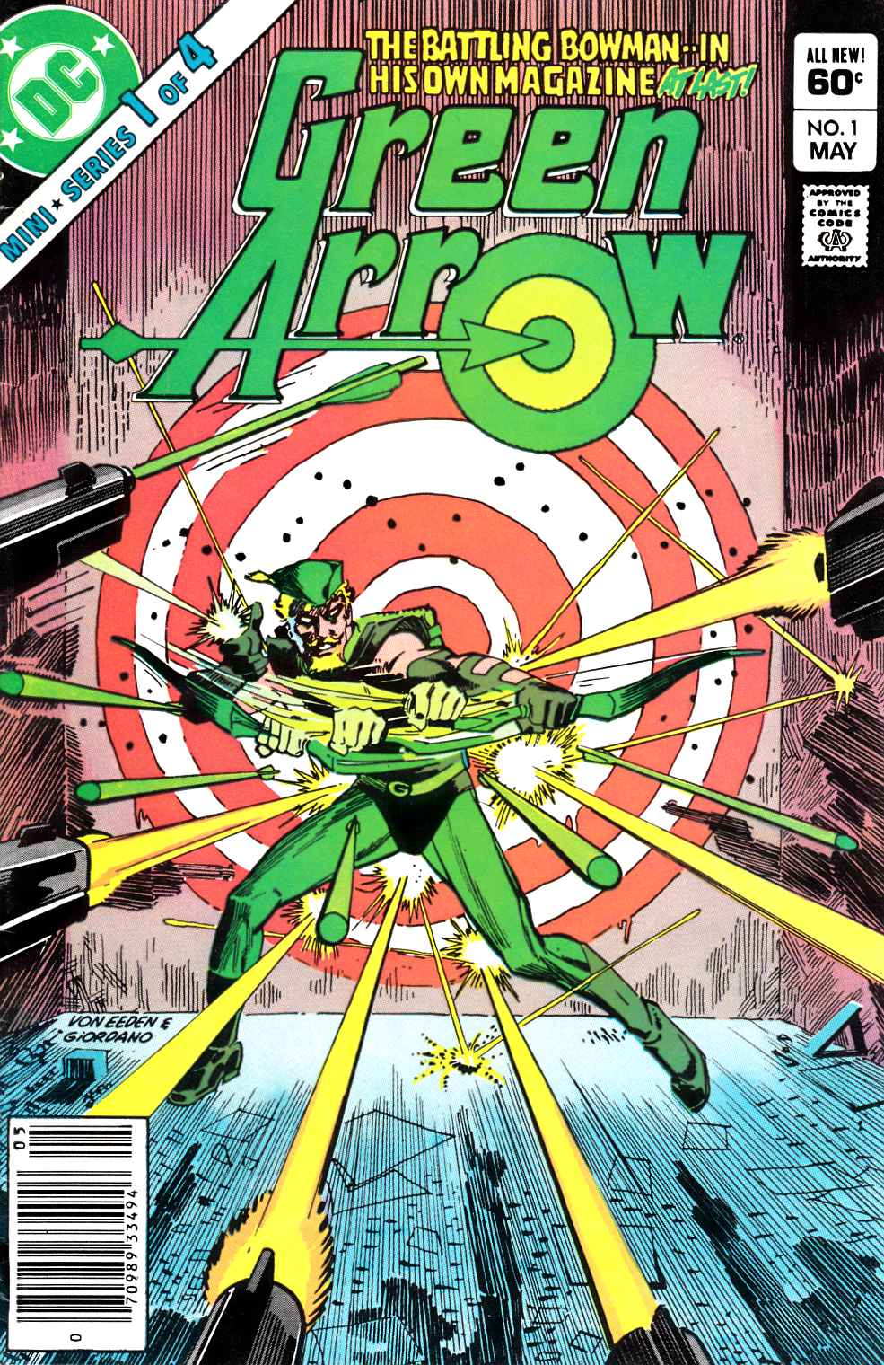 Green Arrow #1 Newsstand Edition Fine (6.0) [DC Comic] LARGE