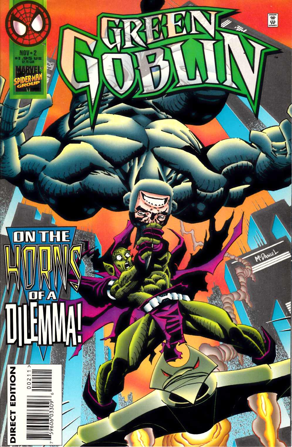 Green Goblin #2 Near Mint (9.4) [Marvel Comic] LARGE