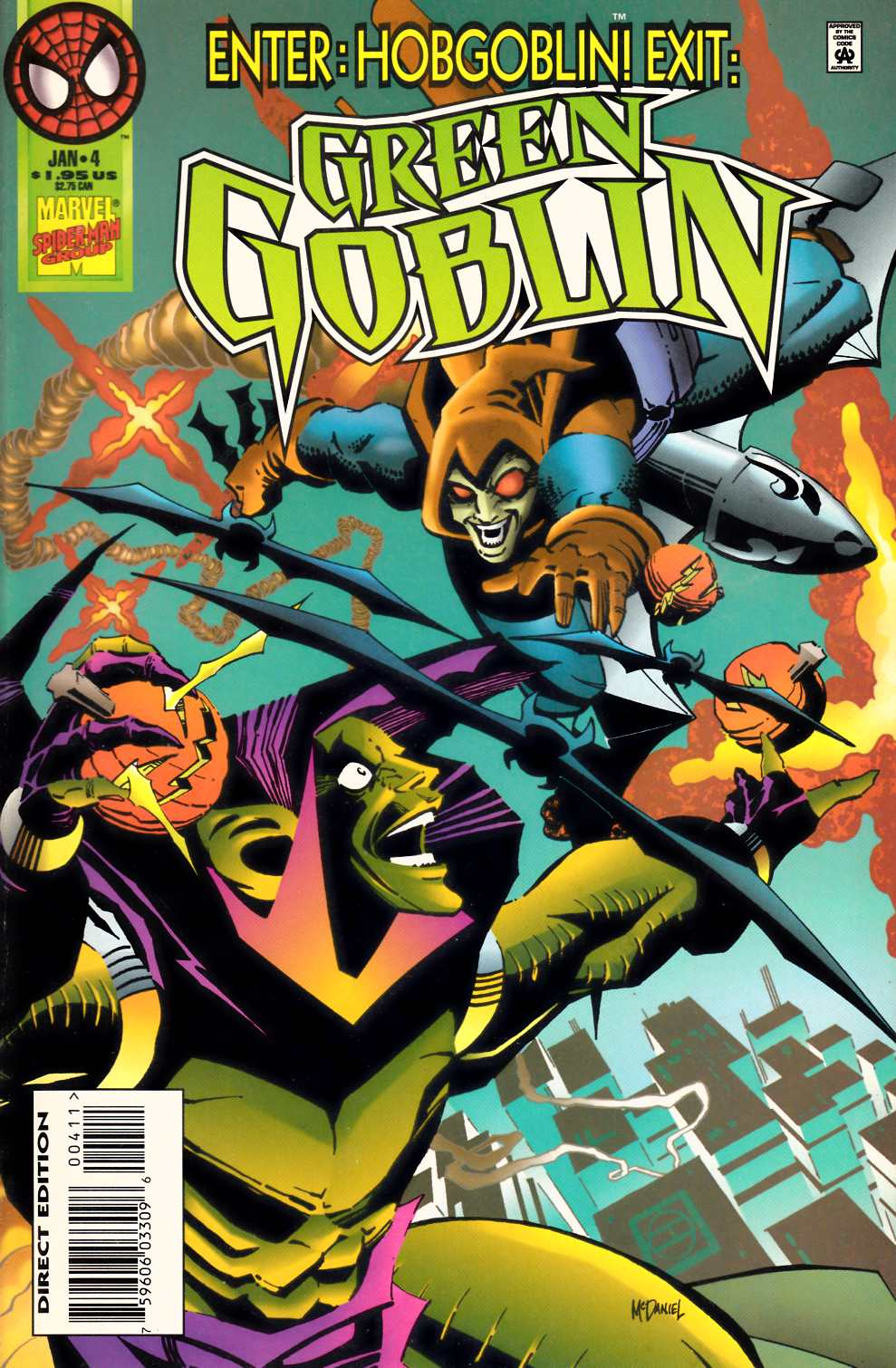 Green Goblin #4 Near Mint (9.4) [Marvel Comic] LARGE