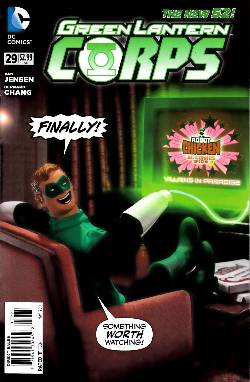 Green Lantern Corps #29 Robot Chicken Variant Cover [DC Comic]_LARGE