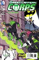 Green Lantern Corps #31 Batman '66 Variant Cover (Uprising) [Comic]