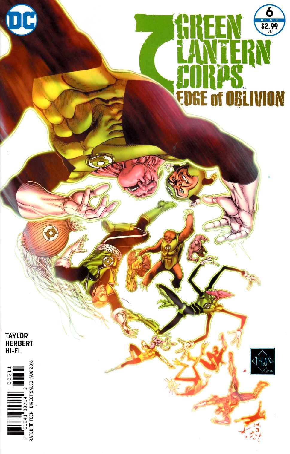 Green Lantern Corps Edge of Oblivion #6 [DC Comic] LARGE