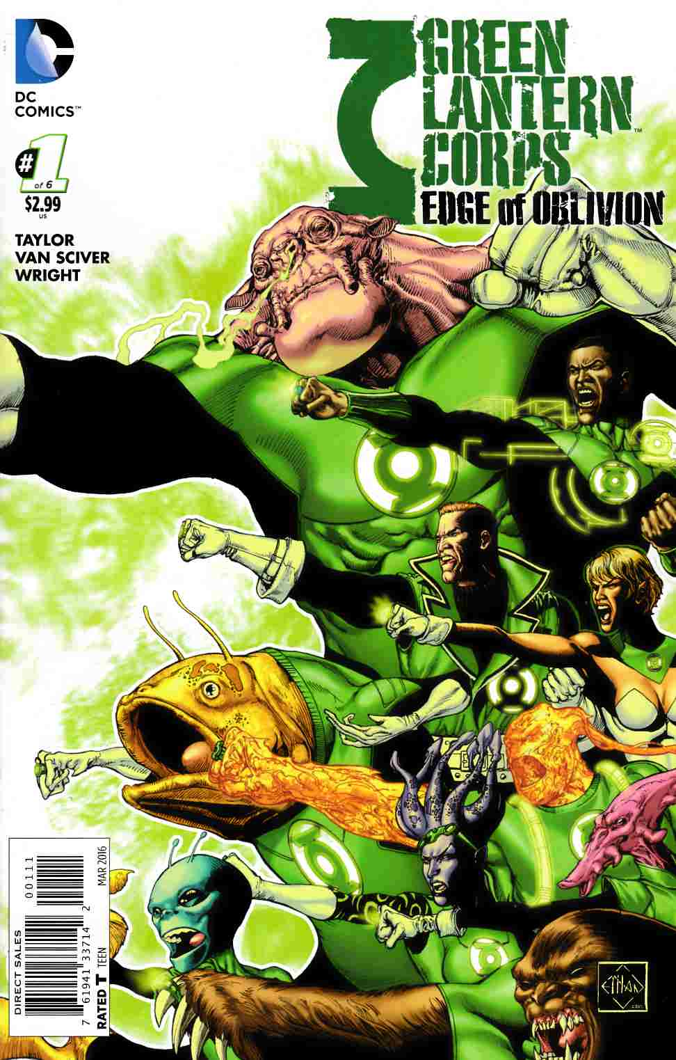 Green Lantern Corps Edge of Oblivion #1 [DC Comic] LARGE