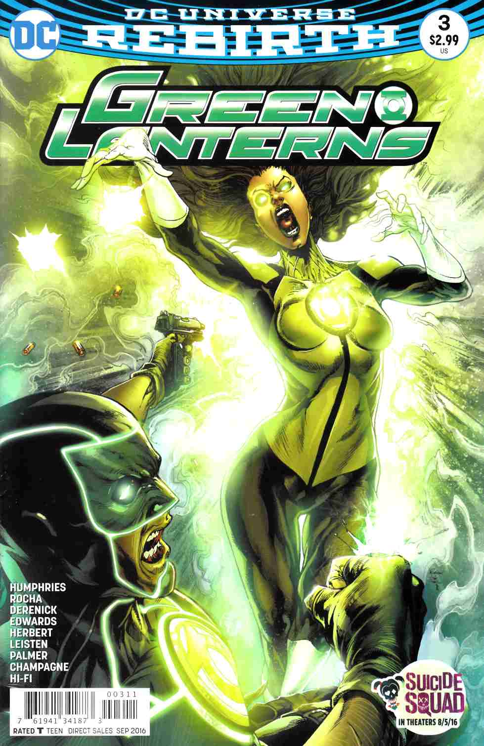 Green Lanterns #3 [DC Comic] LARGE