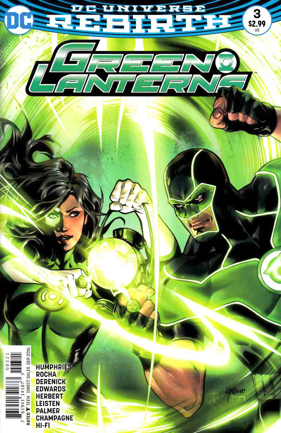 Green Lanterns #3 Lupacchino Variant Cover [DC Comic] LARGE