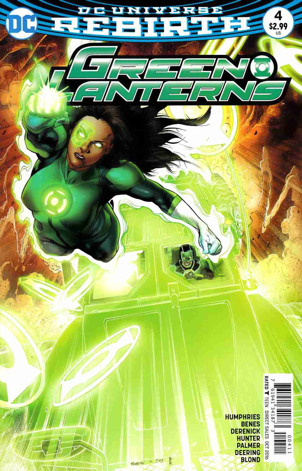 Green Lanterns #4 [DC Comic] LARGE