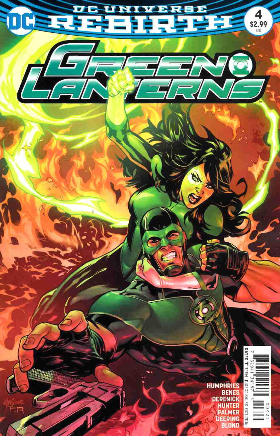 Green Lanterns #4 Lupacchino Variant Cover [DC Comic] LARGE