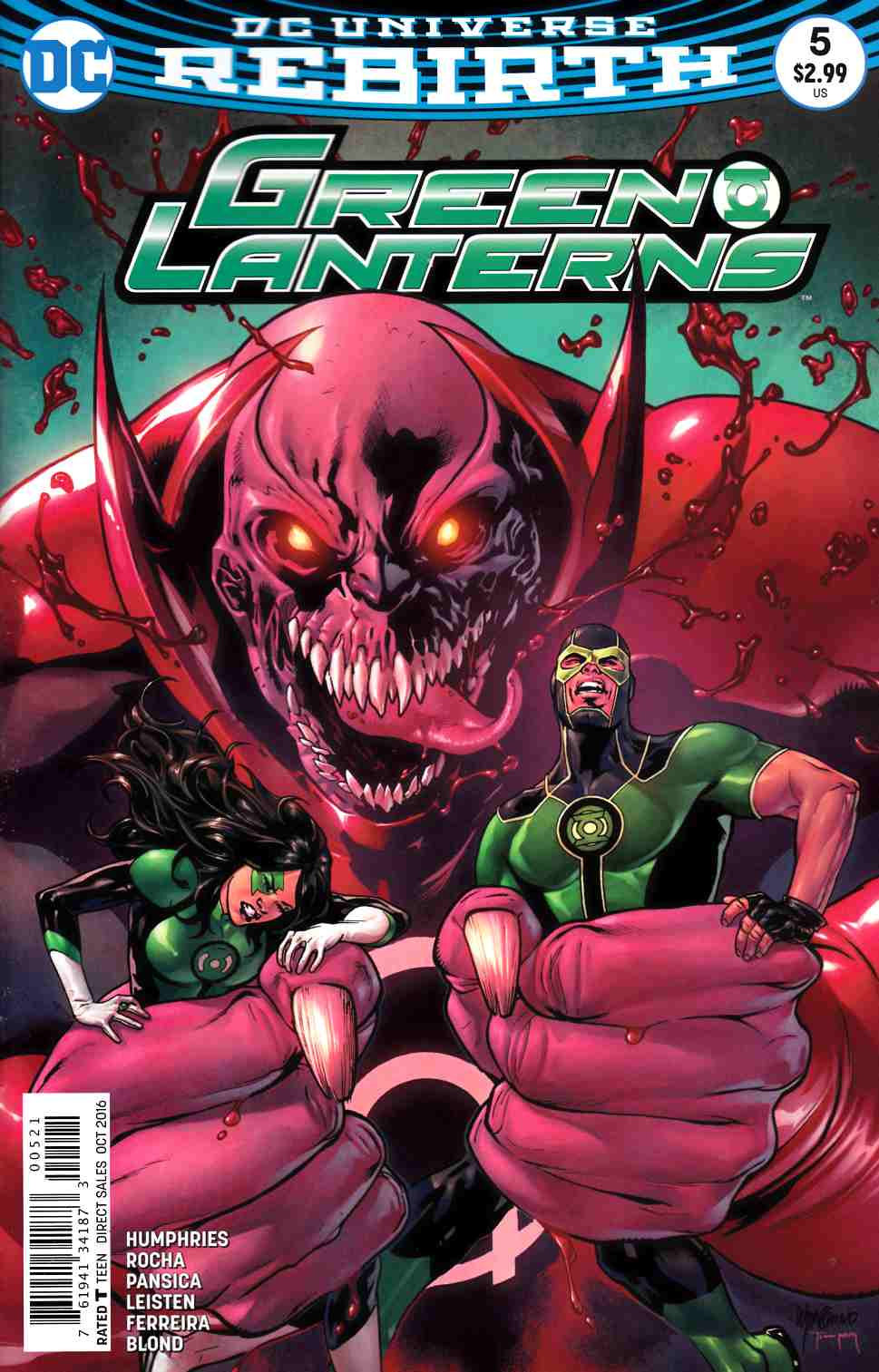 Green Lanterns #5 Lupacchino Variant Cover [DC Comic] LARGE
