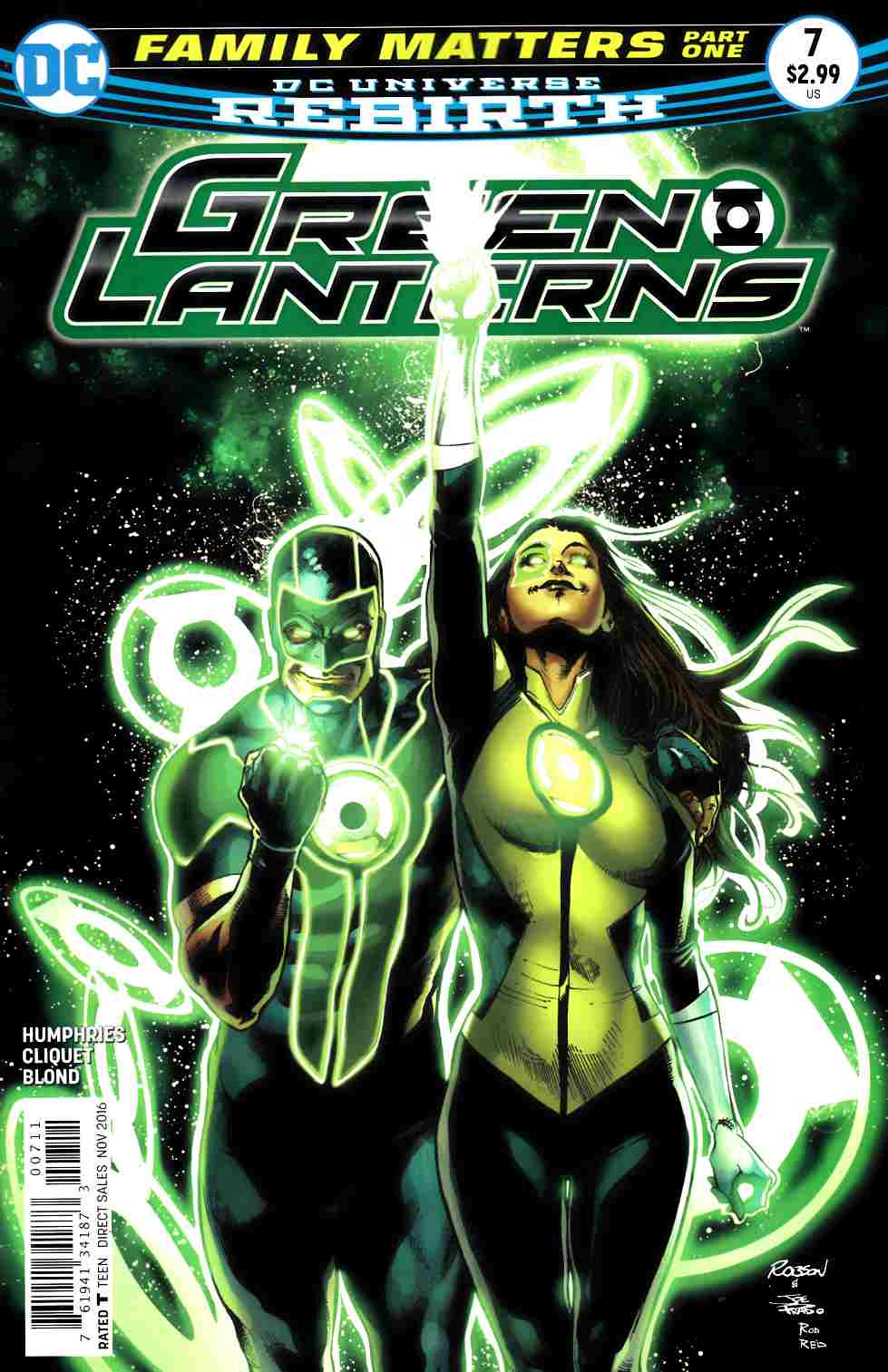 Green Lanterns #7 [DC Comic] LARGE