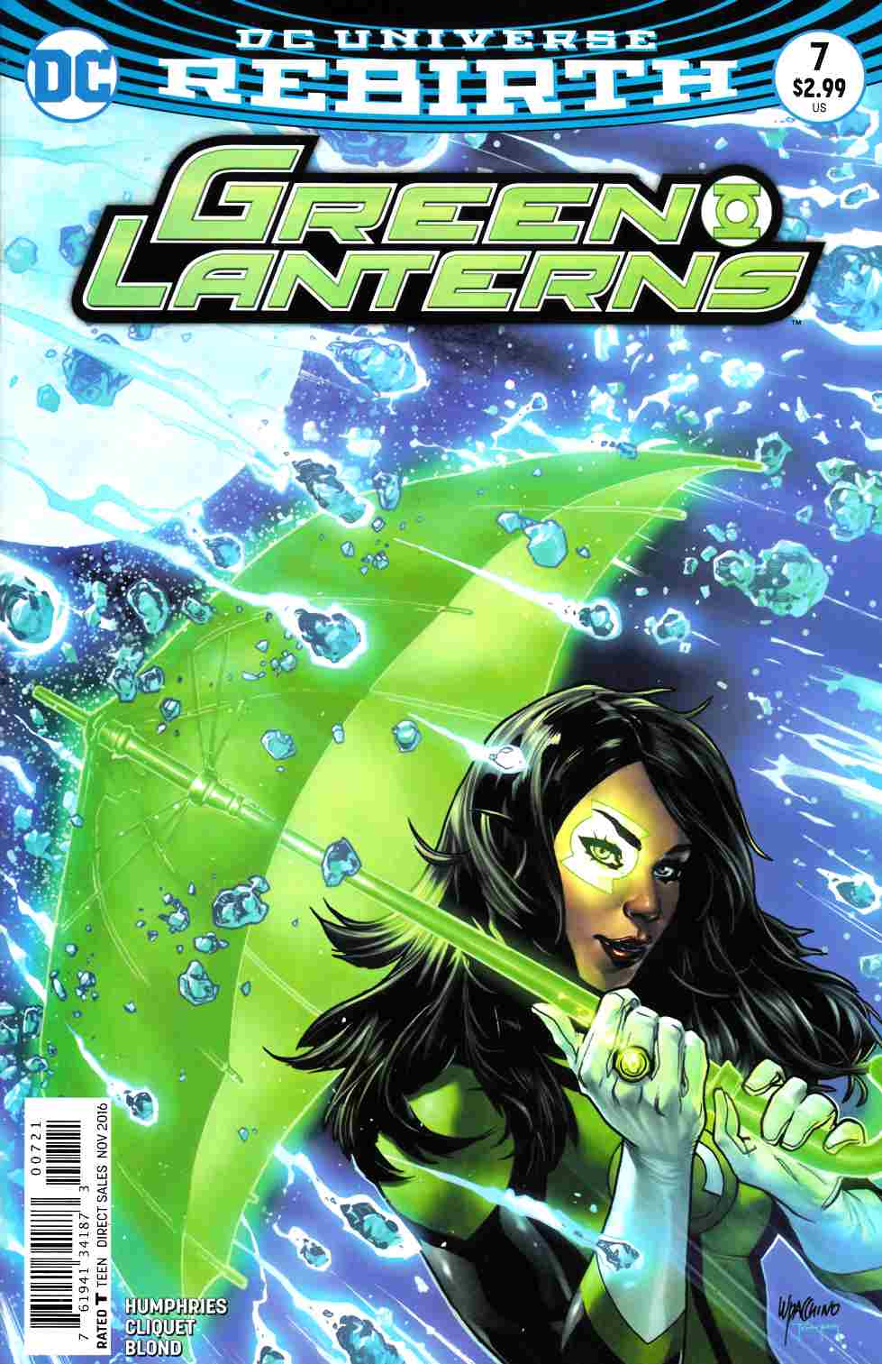 Green Lanterns #7 Lupacchino Variant Cover [DC Comic] LARGE
