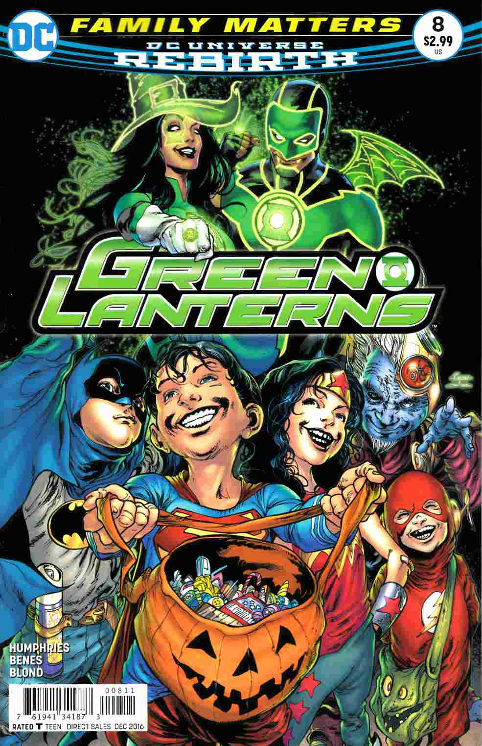 Green Lanterns #8 [DC Comic] LARGE