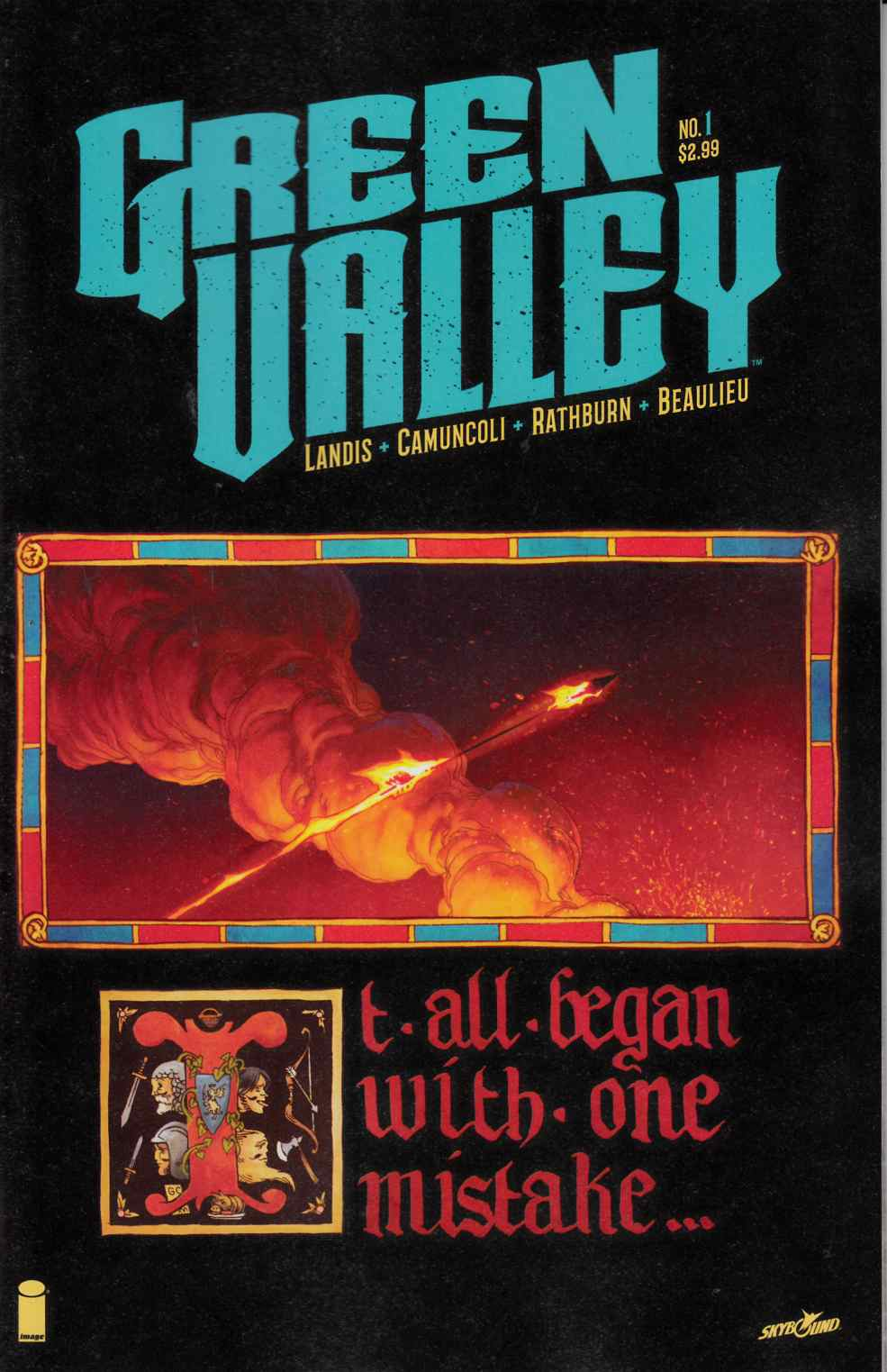 Green Valley #1 [Image Comic] THUMBNAIL