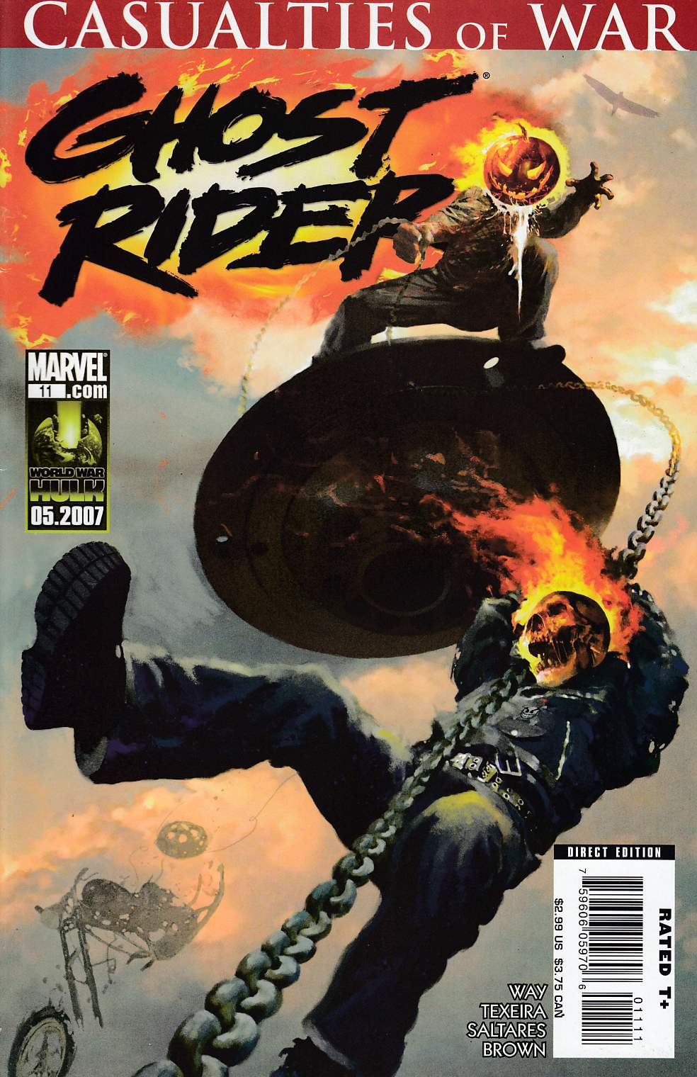 Ghost Rider #11 Very Fine (8.0) [Marvel Comic] LARGE