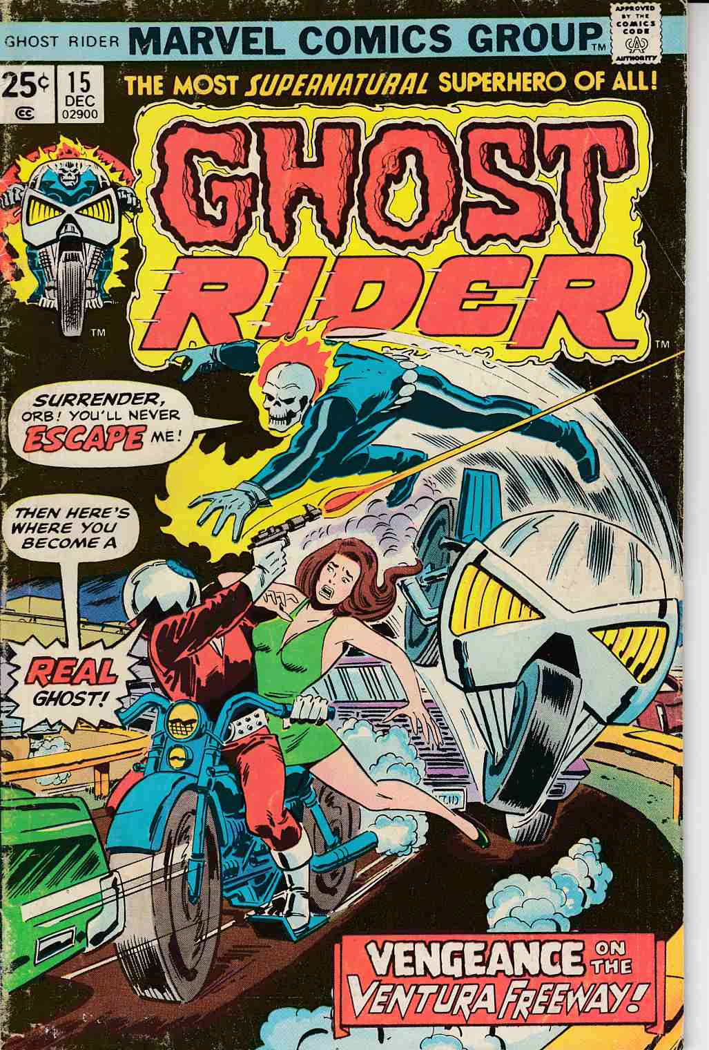Ghost Rider #15 Good (2.0) [Marvel Comic] THUMBNAIL