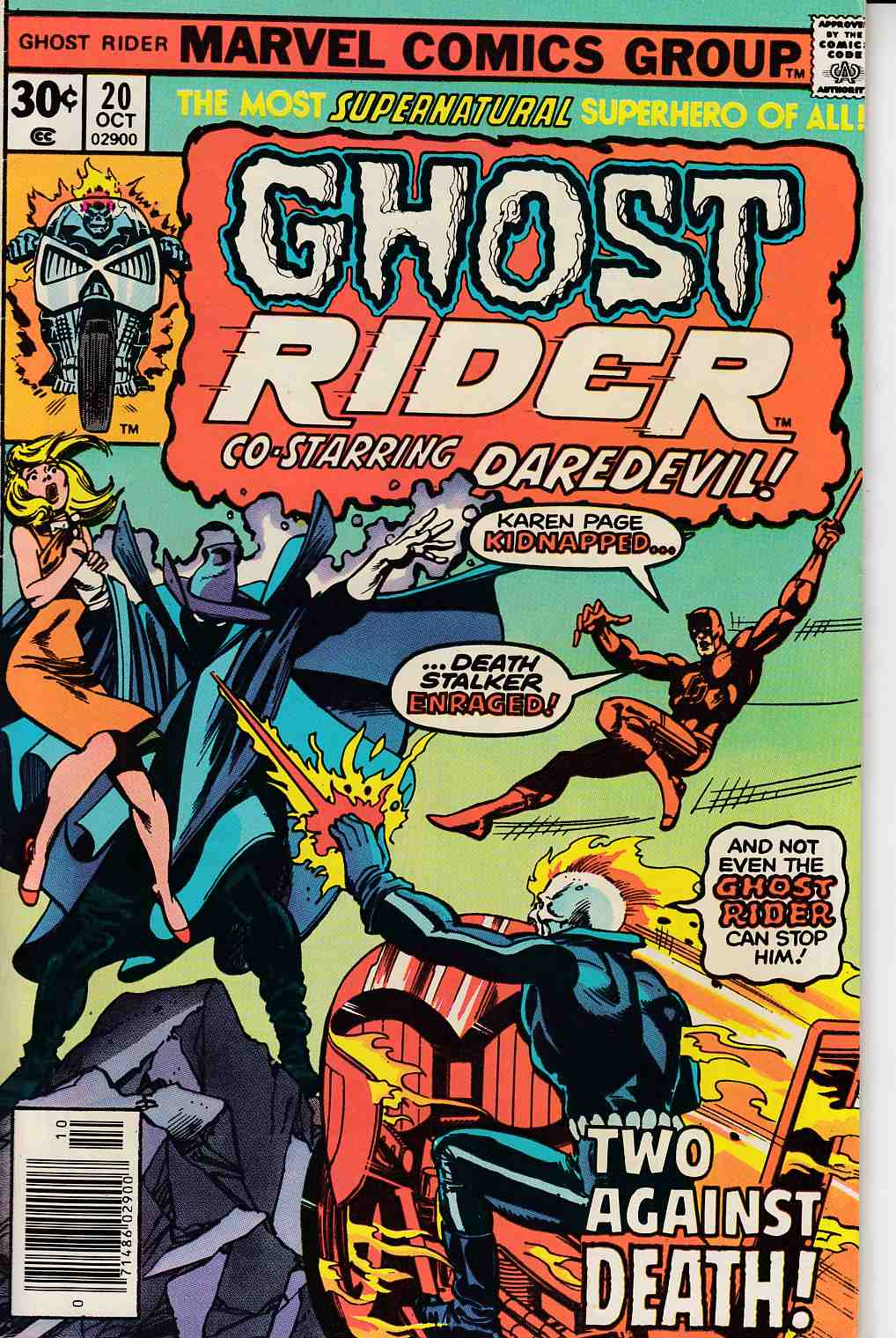 Ghost Rider #20 Fine (6.0) [Marvel Comic] THUMBNAIL