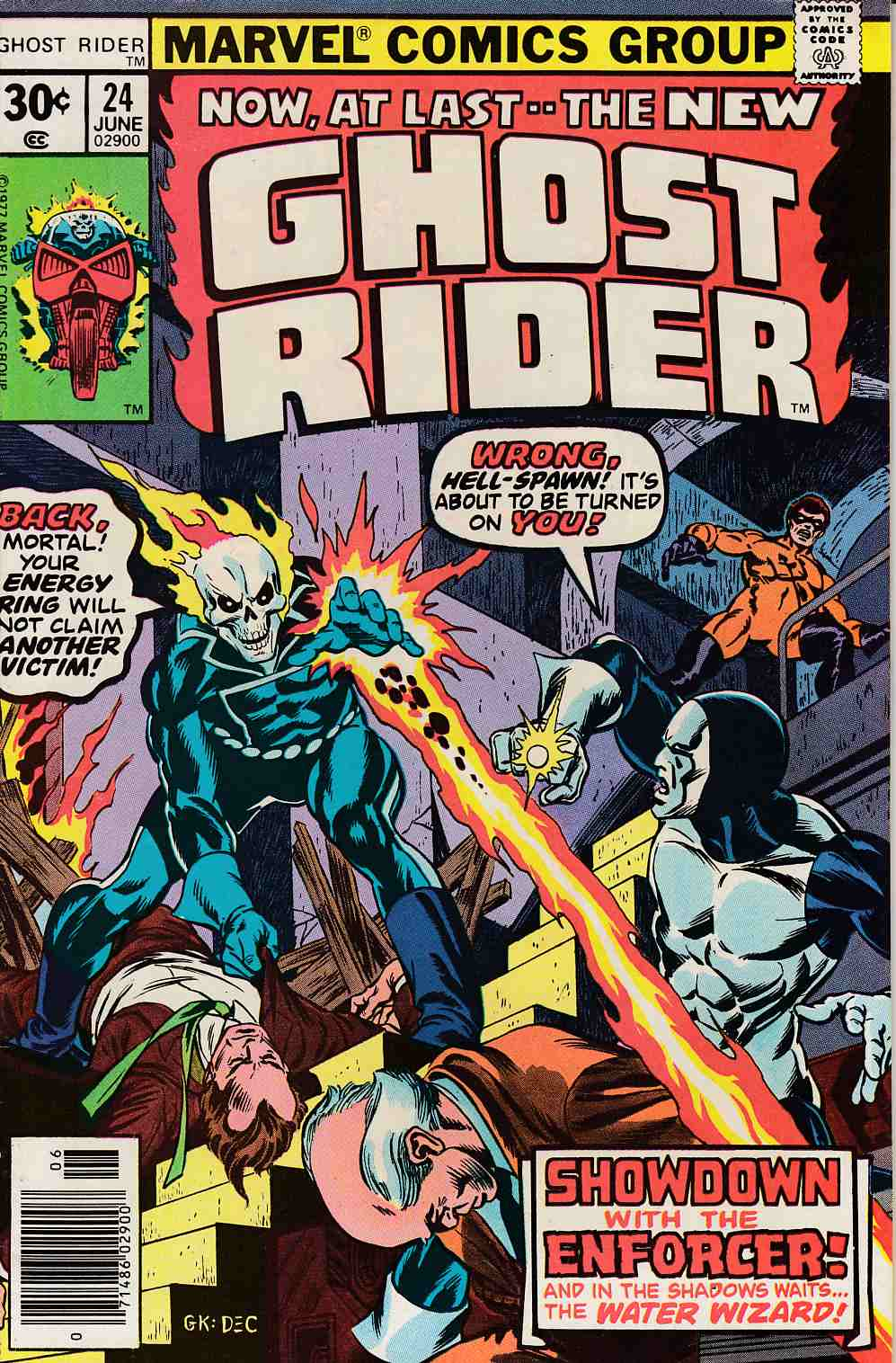 Ghost Rider #24 Very Fine (8.0) [Marvel Comic] THUMBNAIL