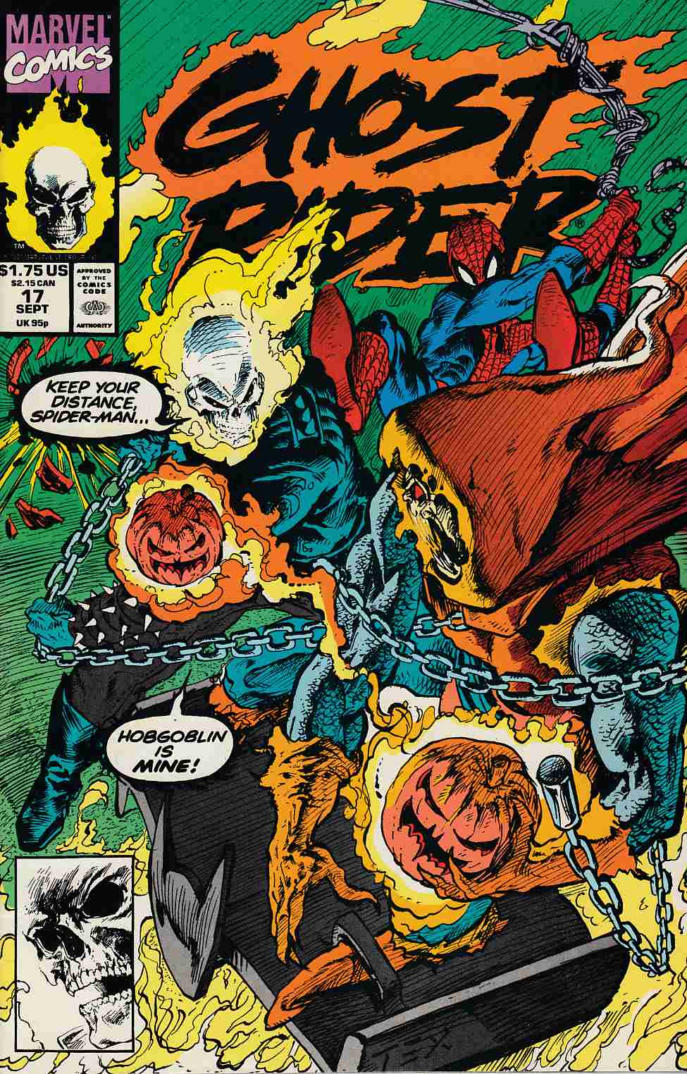 Ghost Rider #17 Very Fine (8.0) [Marvel Comic] THUMBNAIL