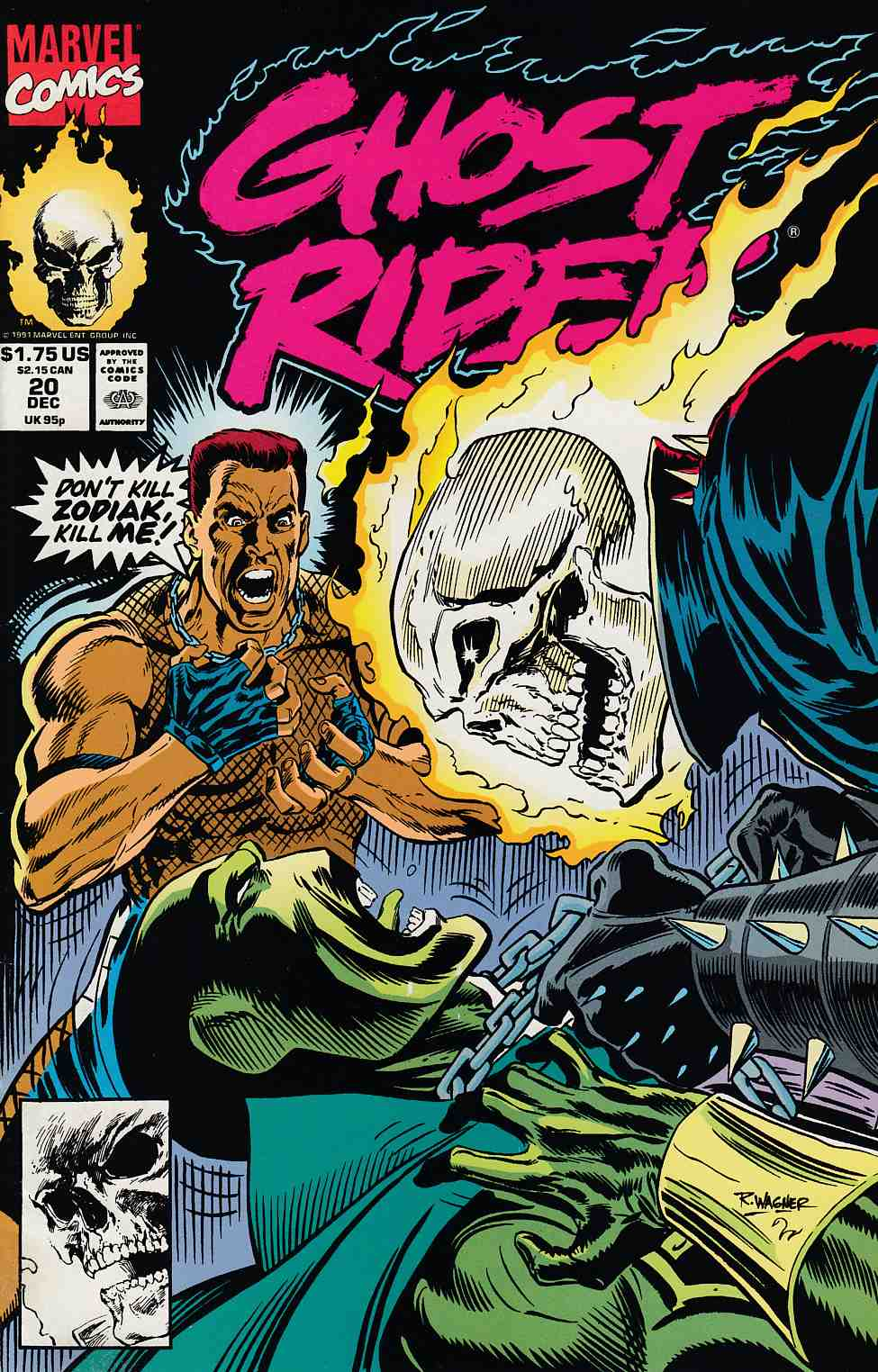 Ghost Rider #20 Near Mint (9.4) [Marvel Comic] THUMBNAIL