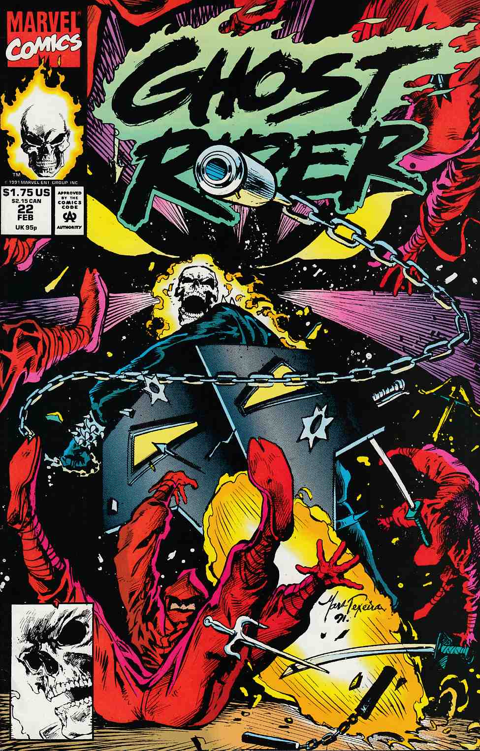 Ghost Rider #22 Near Mint (9.4) [Marvel Comic] THUMBNAIL