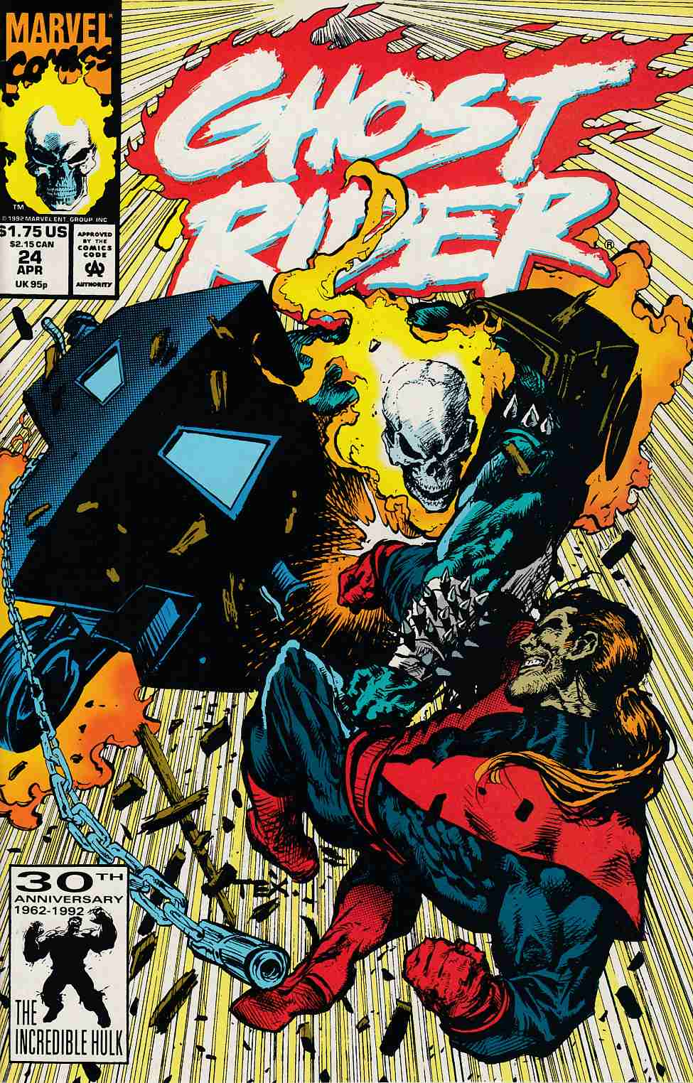 Ghost Rider #24 Near Mint (9.4) [Marvel Comic] THUMBNAIL