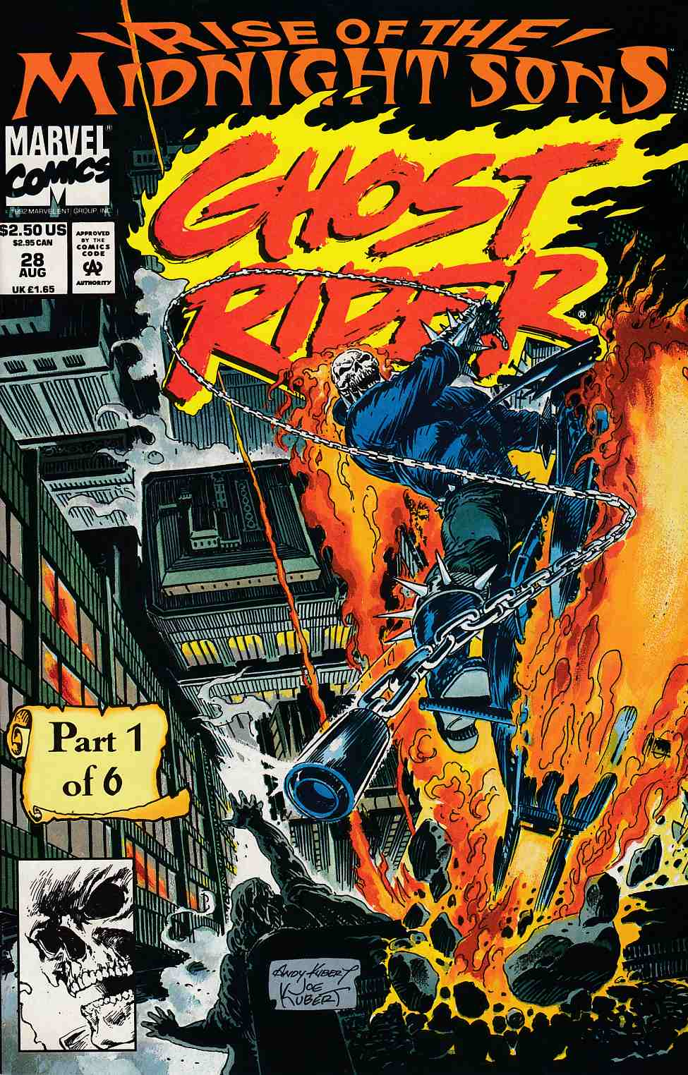 Ghost Rider #28 Near Mint (9.4) [Marvel Comic] THUMBNAIL