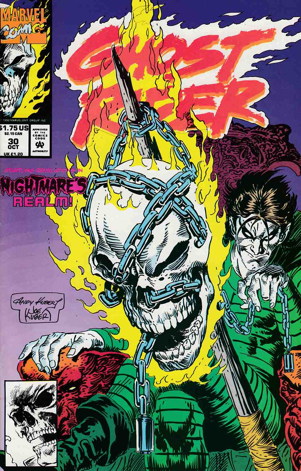 Ghost Rider #30 Near Mint (9.4) [Marvel Comic] THUMBNAIL