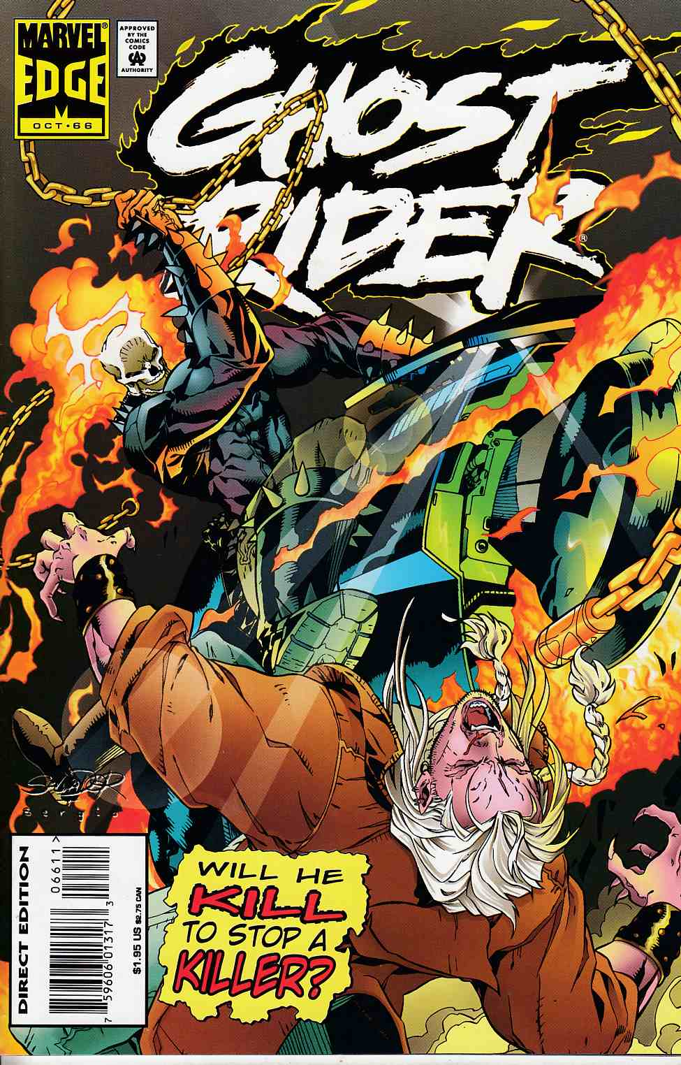 Ghost Rider #66 Very Fine (8.0) [Marvel Comic] LARGE