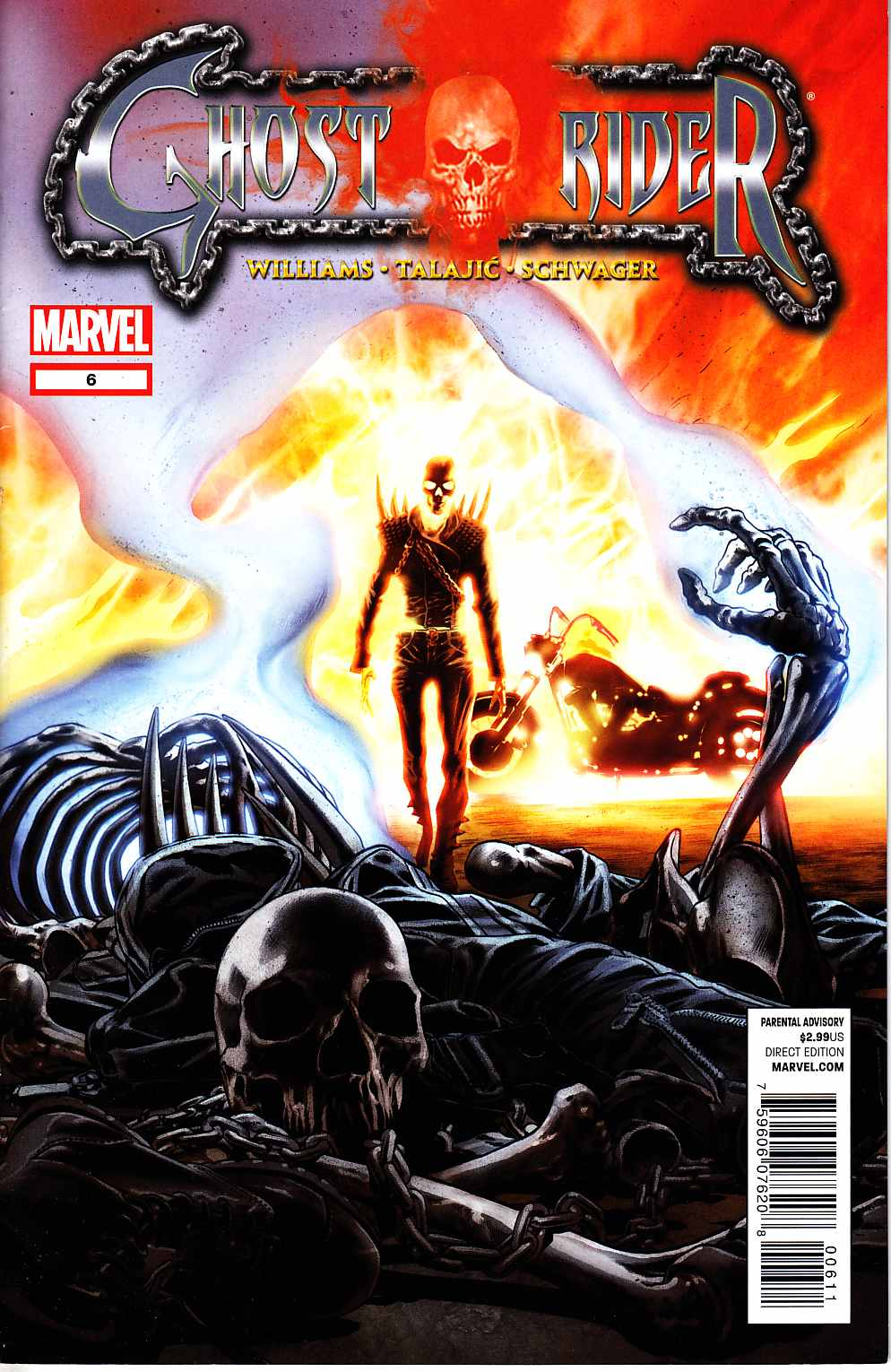 Ghost Rider #6 Near Mint Minus (9.2) [Marvel Comic] THUMBNAIL