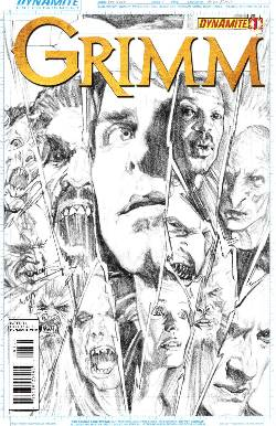 Grimm #1 B&W Incentive Cover [Comic] LARGE