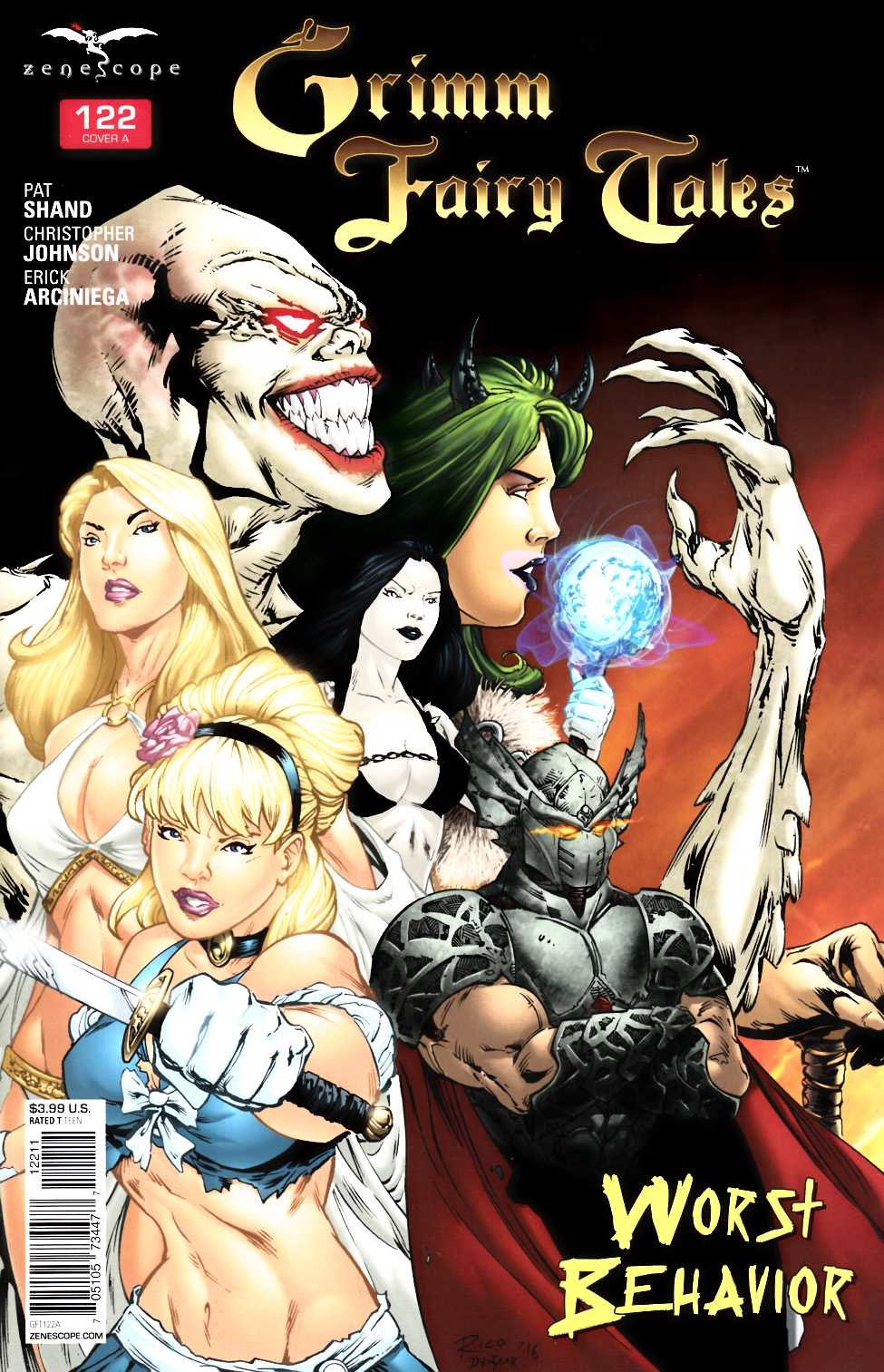 Grimm Fairy Tales #122 Cover A [Zenescope Comic] THUMBNAIL