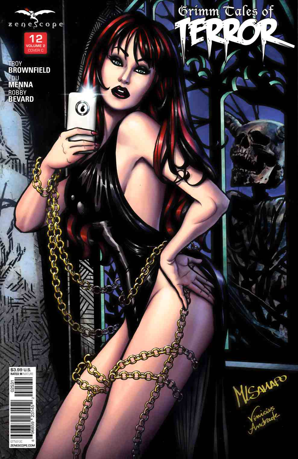 GFT Grimm Tales of Terror Vol 2 #12 Cover C [Zenescope Comic] LARGE
