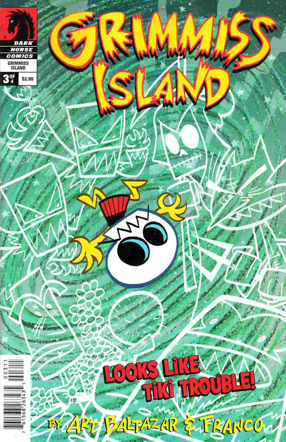 Itty Bitty Comics Grimmiss Island #3 [Dark Horse Comic] THUMBNAIL