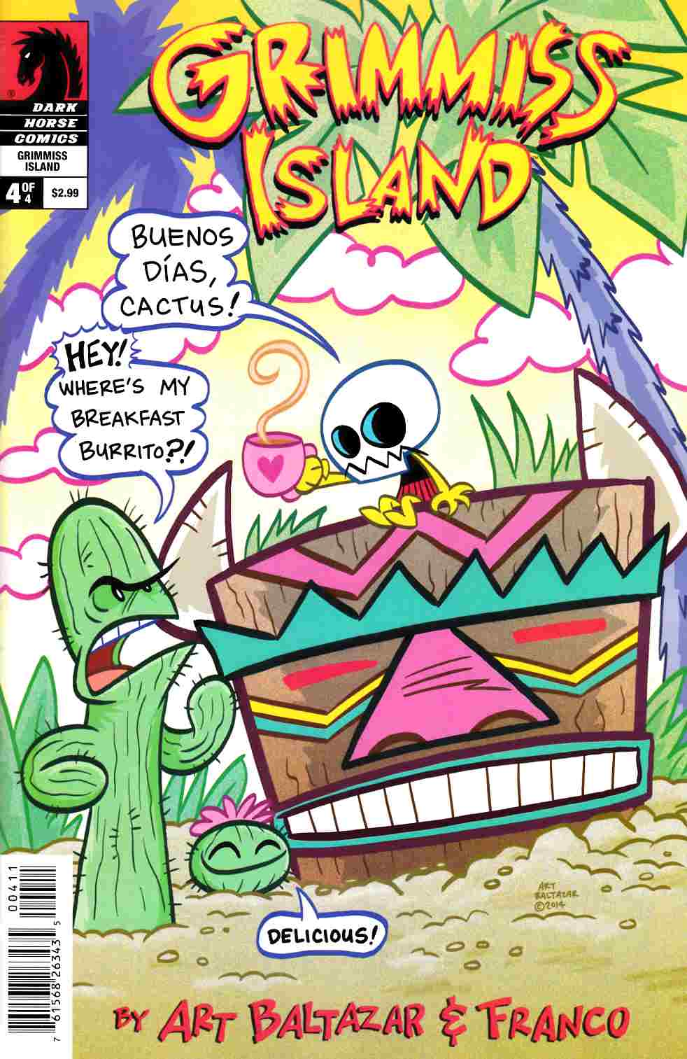 Itty Bitty Comics Grimmiss Island #4 [Dark Horse Comic] THUMBNAIL