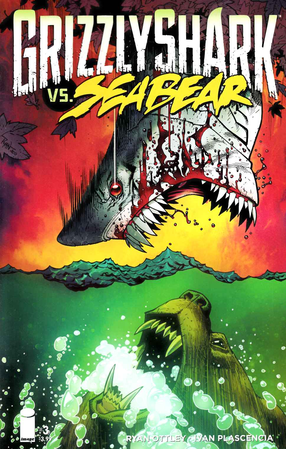 Grizzly Shark #3 [Image Comic] THUMBNAIL