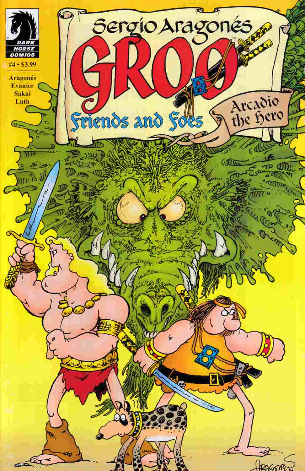 Groo Friends and Foes #4 [Dark Horse Comic] THUMBNAIL