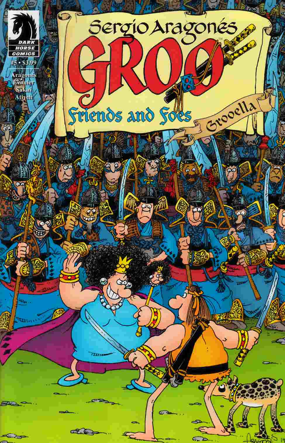 Groo Friends and Foes #5 [Dark Horse Comic] THUMBNAIL
