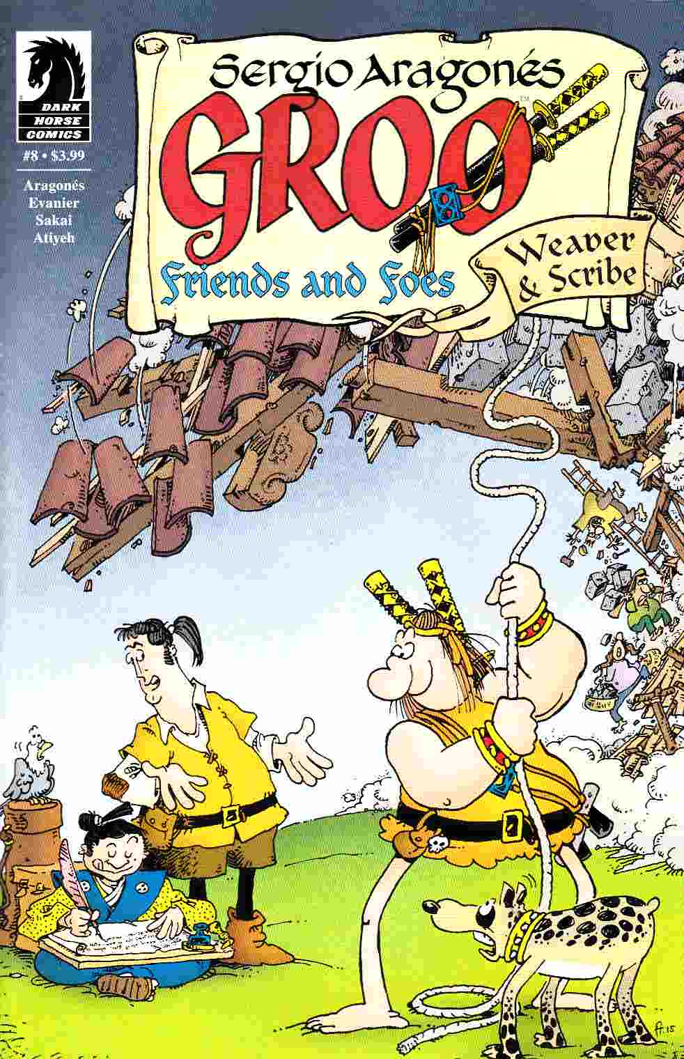 Groo Friends and Foes #8 [Dark Horse Comic]