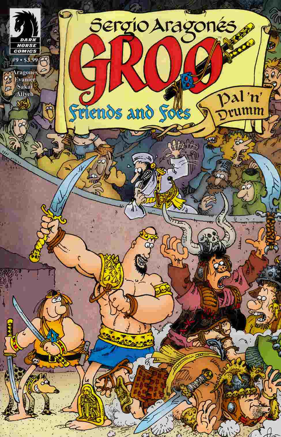 Groo Friends and Foes #9 [Dark Horse Comic] THUMBNAIL