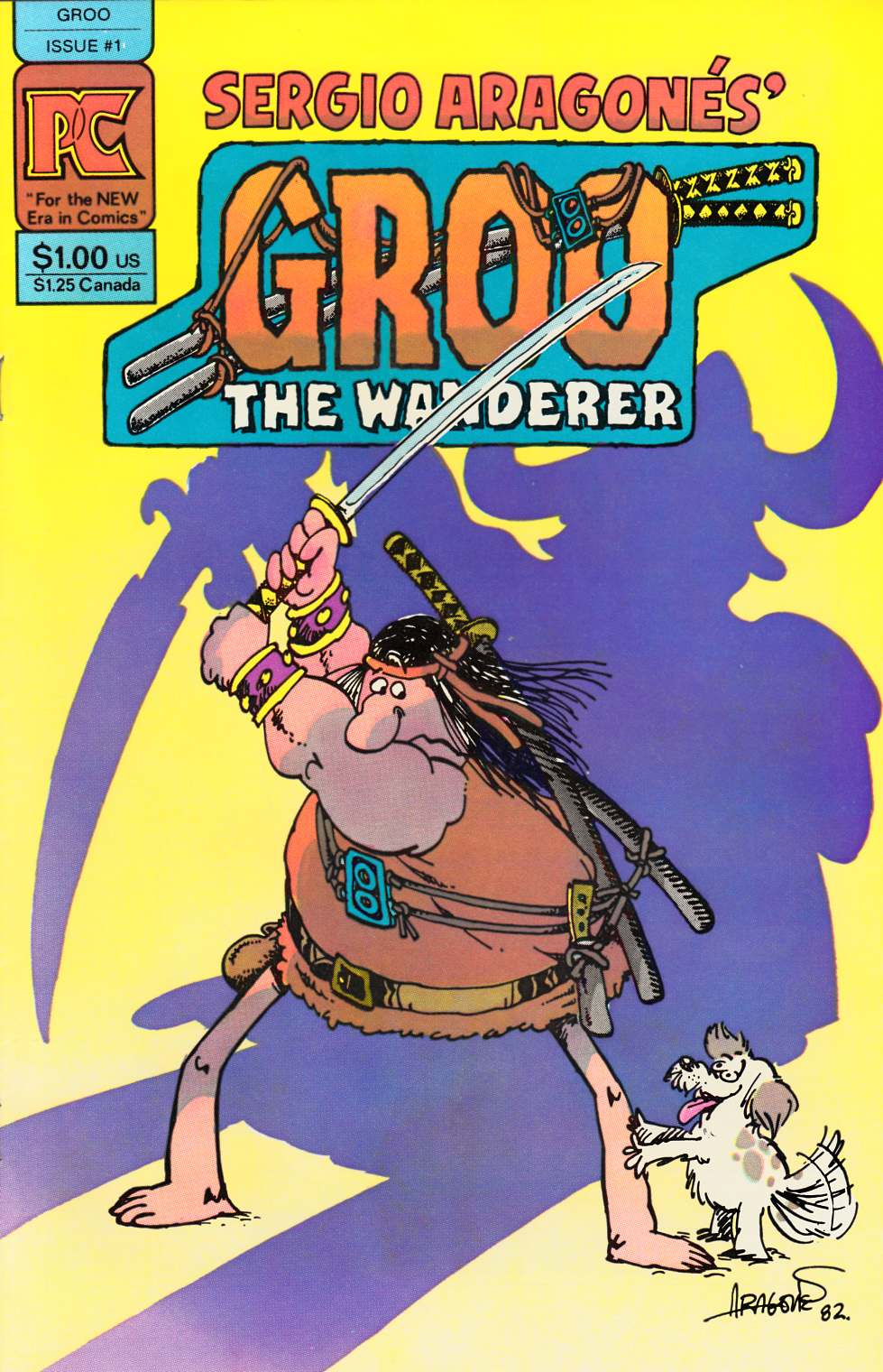 Groo the Wanderer #1 [Pacific Comic] THUMBNAIL