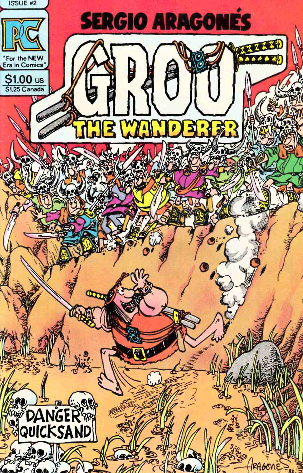 Groo the Wanderer #2 [Pacific Comic] THUMBNAIL