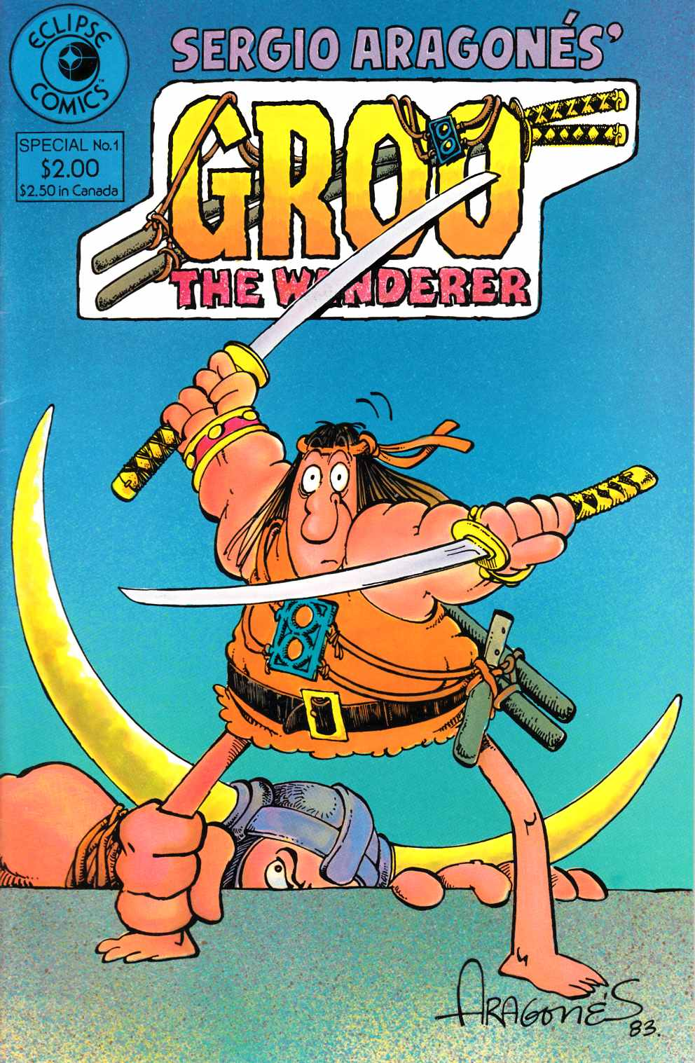 Groo the Wanderer Special #1 [Pacific Comic] THUMBNAIL