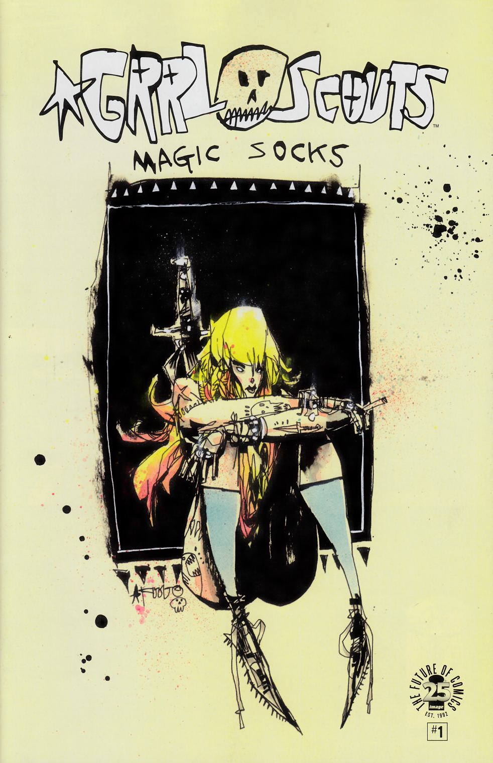 Grrl Scouts Magic Socks #1 Image Blind Box Exclusive Cover [Image Comic]_THUMBNAIL