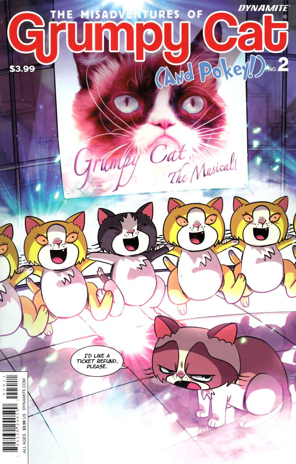 Grumpy Cat #2 Cover A- Uy [Dynamite Comic]_THUMBNAIL