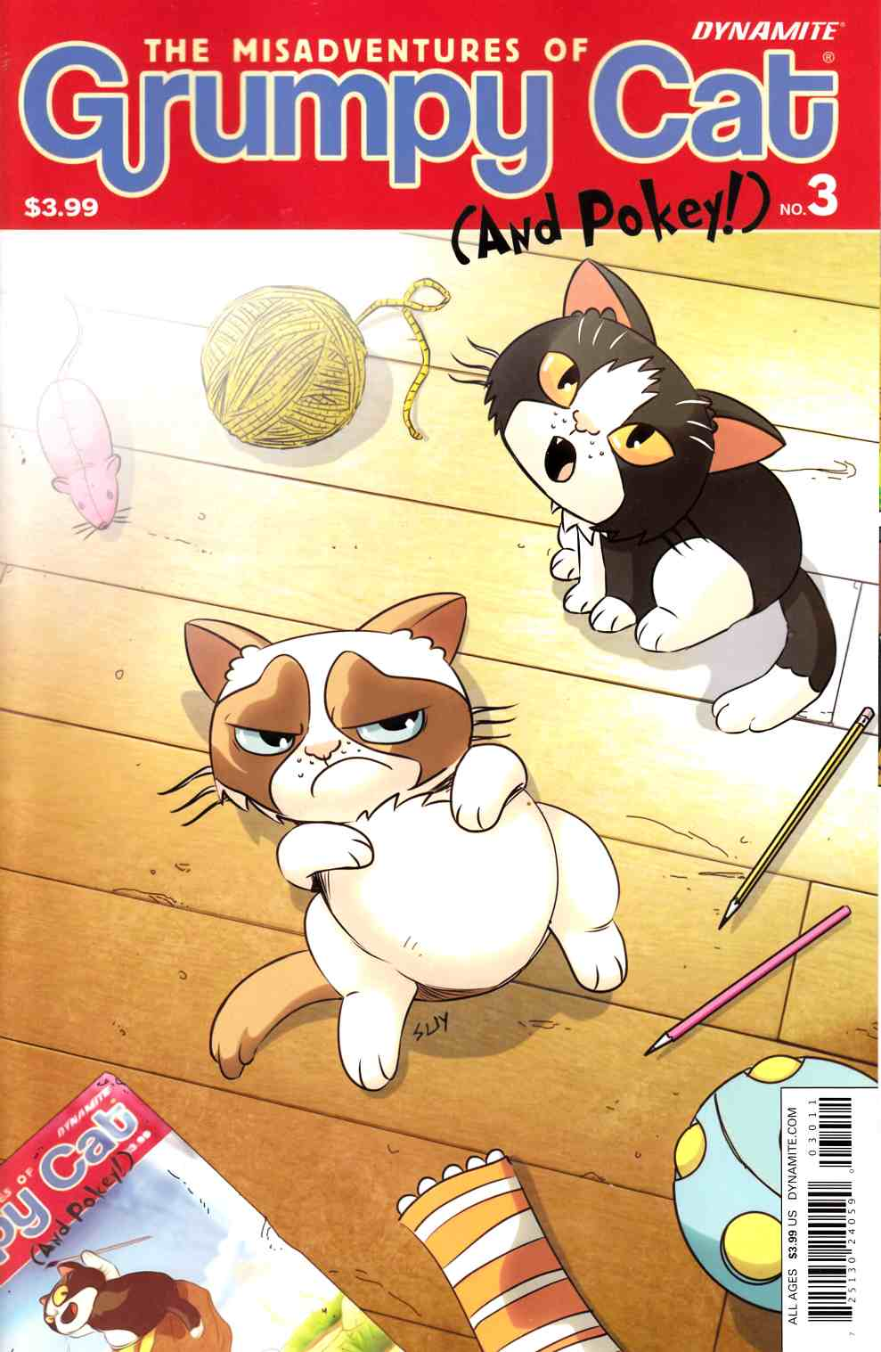 Grumpy Cat #3 Cover A- Uy [Dynamite Comic] LARGE