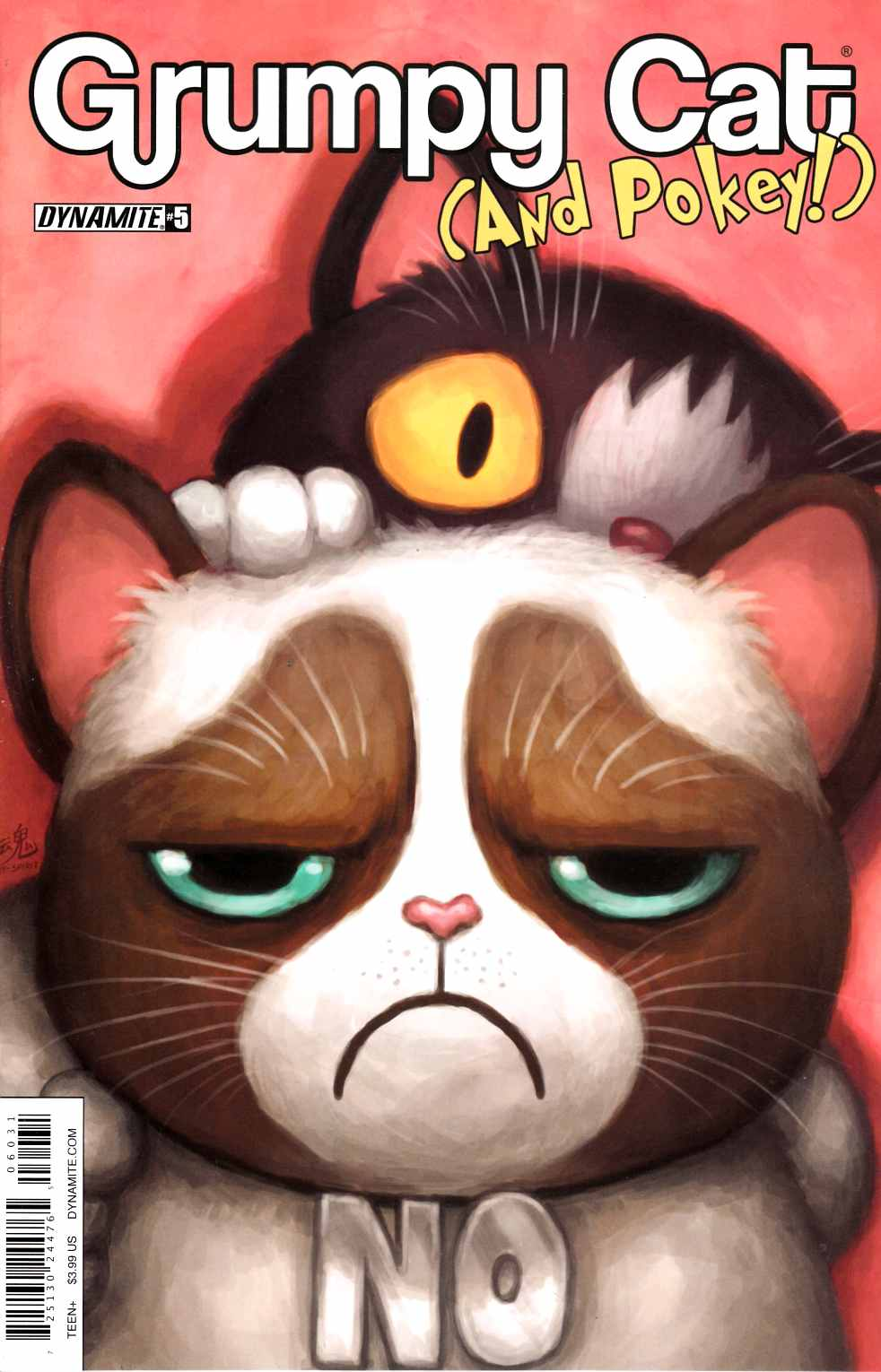 Grumpy Cat & Pokey #6 Cover C [Dynamite Comic] THUMBNAIL
