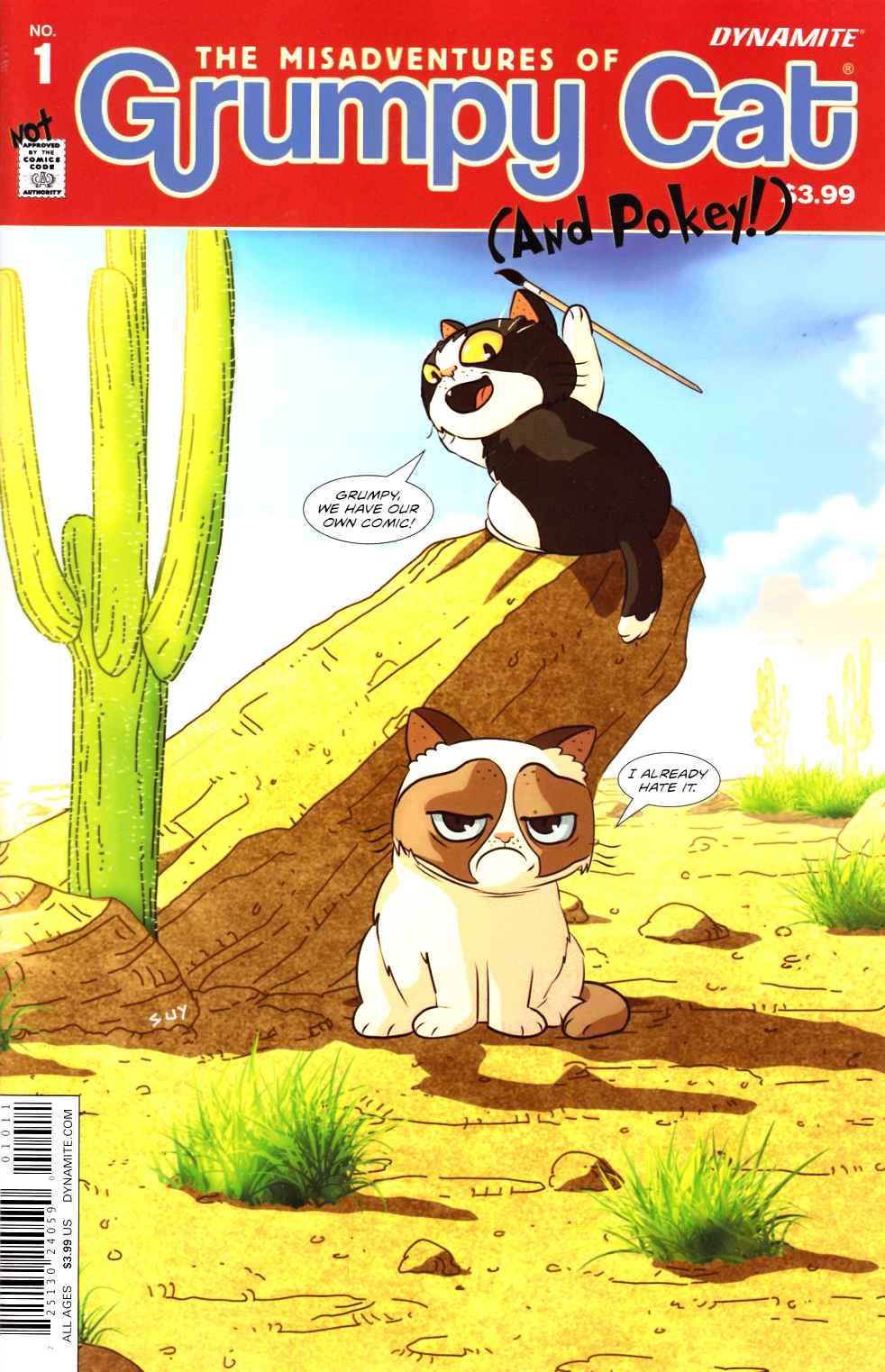 Grumpy Cat #1 Cover A- Uy [Dynamite Comic]_THUMBNAIL