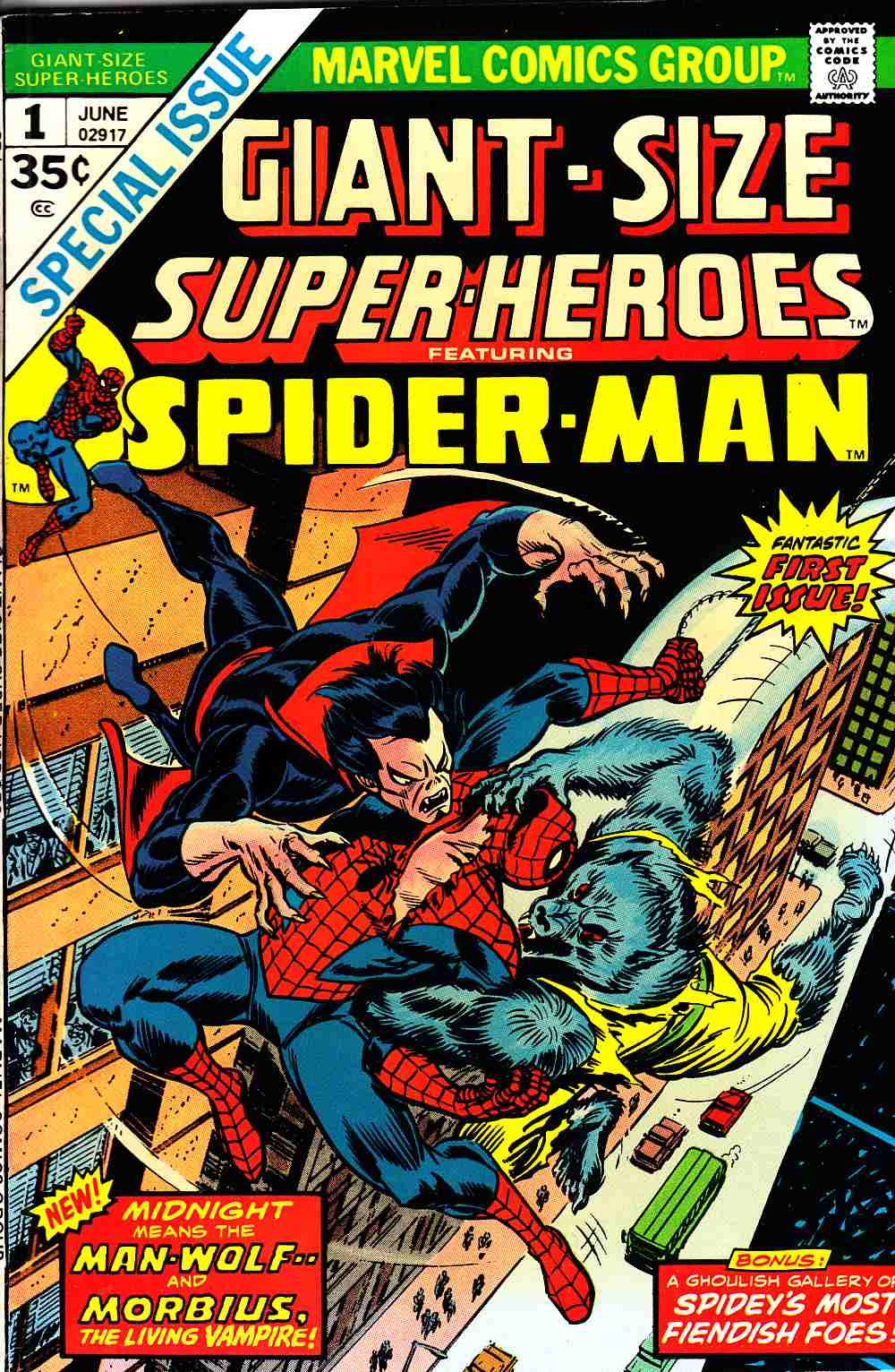 Giant-Size Super-Heroes Spider-Man #1 Fine/Very Fine (7.0) [Marvel Comic] LARGE